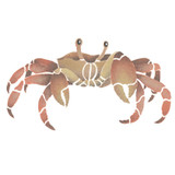 Ghost Crab Wall Stencil by DeeSigns