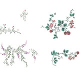 Wall Climber Vines for Stone Walls by DeeSigns