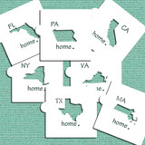 Individual States Cookie and Craft Stencils