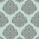 Large 15 Inch Moroccan Damask All Over Wall Stencil