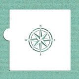 Compass Rose Cookie and Craft Stencil