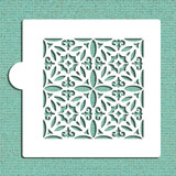 Old World Tile Cookie and Craft Stencil