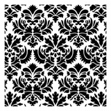 Damask All Over Pattern Stencil (10 mil plastic)