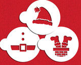 Silly Santa Cookie Stencil Set