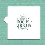 Hocus Pocus Cookie and Craft Stencil