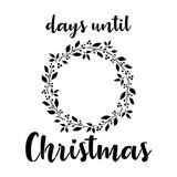 Christmas Countdown Stencil (10 mil)