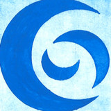 Crisp Blue Acrylic Paint