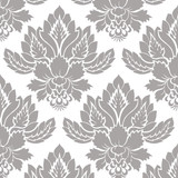 Olivia Contemporary Damask All Over Wall Stencil