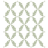 Charlotte Fern Lattice Wall Stencil - Large
