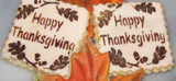 Thanksgiving Cake and Cookie Stencils