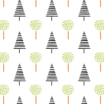 Fox Forest Collection H Wall Stencil by Victoria Borges SKU #WAG101