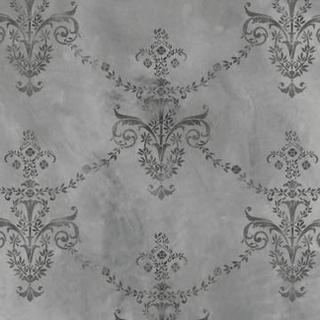 Antique Wallpaper Wall Stencil