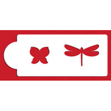 Butterfly Dragonfly Stencil Template