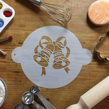 Ringing Bells Cake Stencil