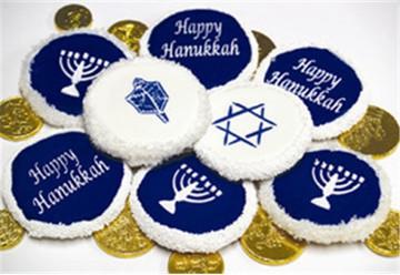 "Jewish Symbols Cookie/Candy Tops 1.5"""