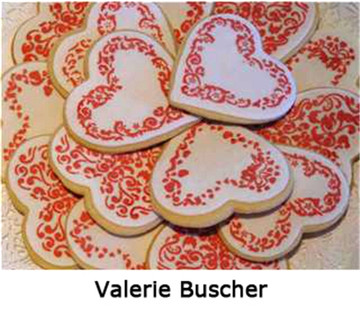 Swirl Valentine Heart Stencil Set