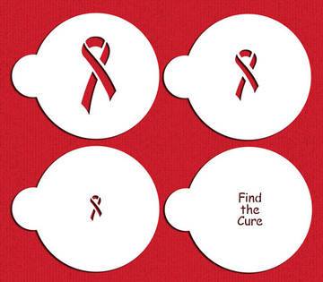 Find the Cure Cookie Stencils