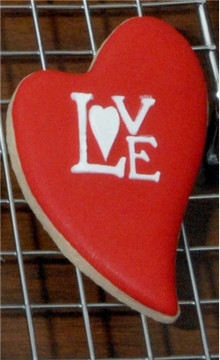 Love Cake and Cookie Stencils