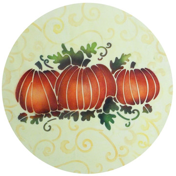 Pumpkin Patch Cake Stencil