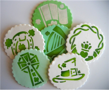 St. Patrick's Day Candy Stencils