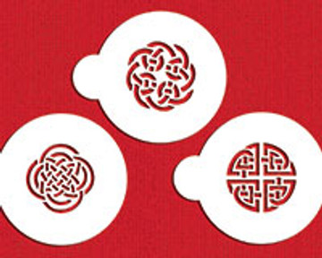 Celtic Knots Cookie Stencil