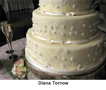 Alencon Lace Cake Stencil Set