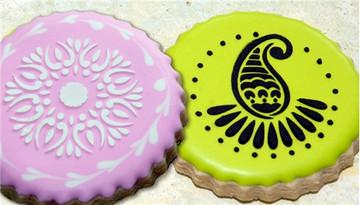 Mehndi Cookie Stencils