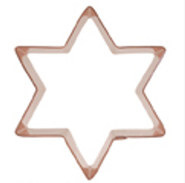 6 Point Star of David Cookie Cutter