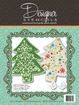 Holiday Tree Stencil Set (no cutter)