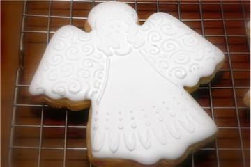 Angel Cookie Stencil Set (no cutter)