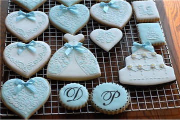 Three Tier Wedding Cake Cookie Stencil Set (no cutter)