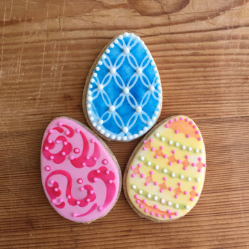 Mini Easter Egg Cutter/Stencil Set