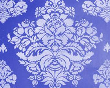 Winterthur Sophie's Rose Damask Wall Stencil - Production Size