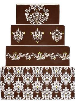 Filigree Damask Cake Stencil Side #4