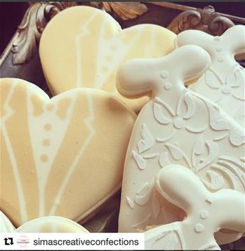 Bride & Groom Cookie Cutter & Stencil Set