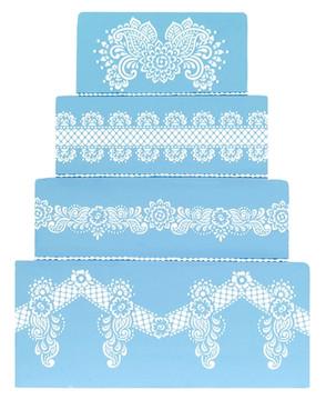 Chelsea Tier 4 Cake Stencil