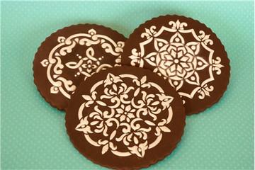 Venetian Prints Cookie Stencil Set