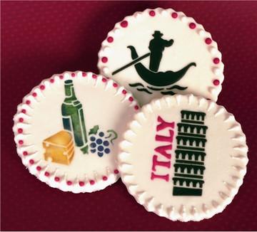 Bella Italy Cookie Stencil Set