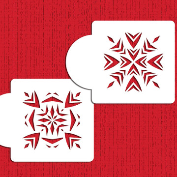 Aztec Tiles Cookie Stencils
