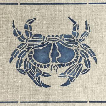 Crab Frame Wall Stencil