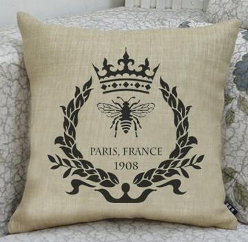 Paris Bee Wreath Stencil SKU #3735