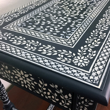 Indian Inlay Furniture Stencil Set 2