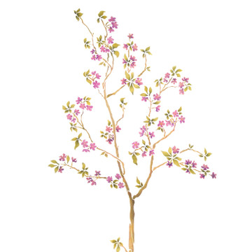 Blossoming Tree Wall Stencil by The Mad Stencilist