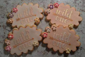 Wild Thing Cookie Stencil Set