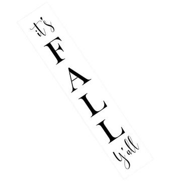 It's FALL Y'all Wall Stencil
