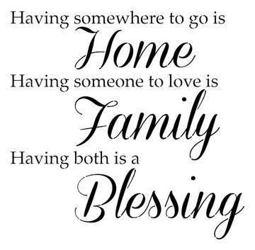 Home Family Blessing Stencil - 10 mil