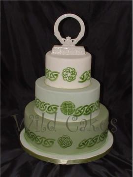 Celtic Border Cake Stencil