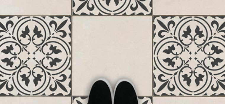 Tile Pattern Wall Stencils
