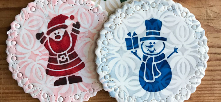 New Stencils for Cookie & Cake Decorating