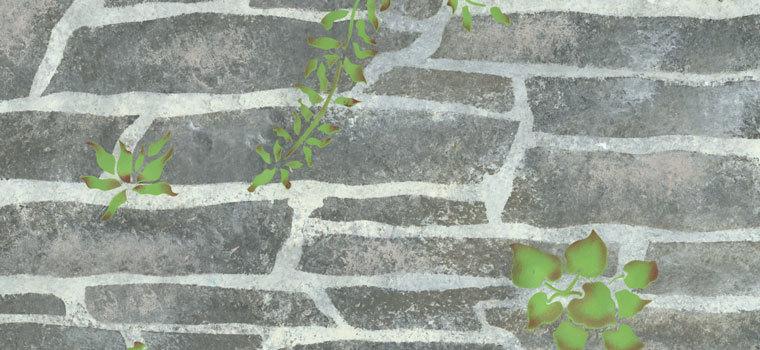 Garden Wall Stencils